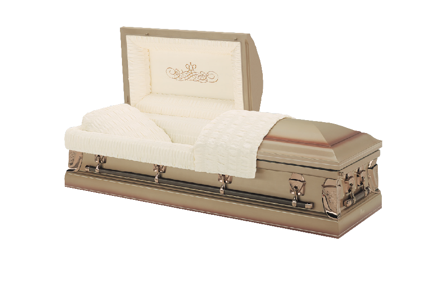<h2>Batesville Desert Champagne</h2><span>SOLID TIMBER COFFIN</span>