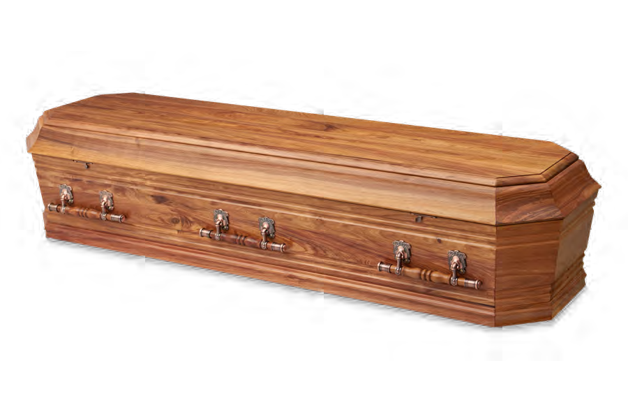 <h2>Grecian Urn Blackwood</h2><span>SOLID TIMBER COFFIN</span>