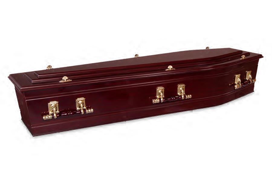 <h2>Majestic Rosewood</h2><span>SOLID TIMBER COFFIN</span>