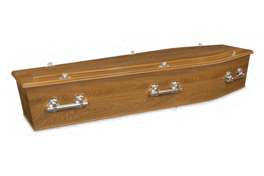 <h2>Swan Country Oak</h2><span>SOLID TIMBER COFFIN</span>